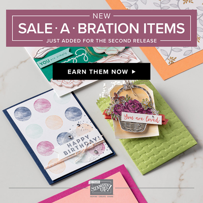 Click here to see the Sale-a-Bration Second Release Flyer